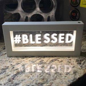 #blessed led light box